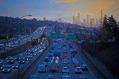 America's Heinous Commutes, Mapped in Pretty GIFs