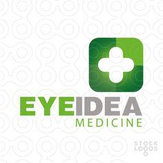 EyeIdea Medicine - Unique #logo #sale #medical #app #tech