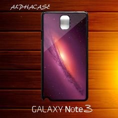Andromeda Red Galaxy Space Nebula Samsung Galaxy Note 3 III Case Cover - PDA Accessories