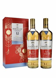 Macallan 12 Year Old Triple Cask Lunar Pack 2020 Best Rye Whiskey, Scotch Whiskey, Bourbon Whiskey, Macallan Whisky, Modern Aprons, Champagne, Single Malt Whisky, 12 Year Old, Iced Tea