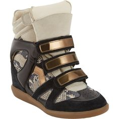 Isabel Marant Bonny Hidden Wedge Sneakers and other apparel, accessories and trends. Browse and shop 21 related looks.