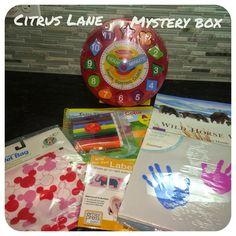 "What the Schneck! - the Blog: Citrus Lane Mystery Box Review ""Melissa & Doug Clock Sorter"" #babybox #citruslane"
