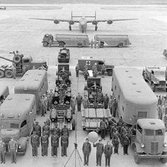 Vehicles and crews required to support the B24 mission