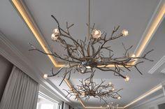 Interior Architecture showroom in Mies - Switzerland Interior Design Studio, Chandelier, Ceiling Lights, Lighting, Elegant, Projects, Home Decor, Nest Design, Classy