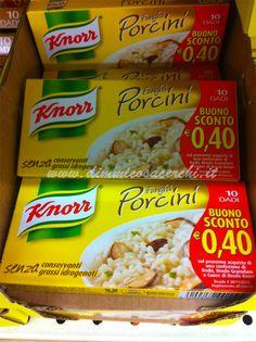 Dado Knorr ti offre un buono sconto del valore di 0,40€