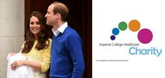 The Duke and Duchess of Cambridge encouraging people to support Imperial College Healthcare Charity to celebrate Princess Charlotte's arrival.