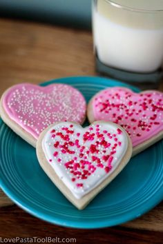 Royal Icing Valentine's Cookies- Love, Pasta and a Tool Belt