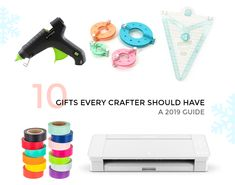 10 GIFTS EVERY CRAFTER SHOULD HAVE Holiday Gift Guide, Holiday Gifts, Christmas Stocking Decorations, Christmas Paper, Envelope Liners, Creative Crafts, Christmas Shopping, Gift Tags, House Warming