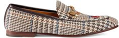 Gucci Jordaan wales check loafer