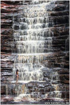 Cachoeira dos Cristais, Chapada Diamantina, Brasilien