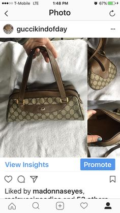 e4fae165b301e9 Vintage Gucci Papillion bag Available IG @guccikindofday Vintage Gucci, Gucci  Handbags, Prada,