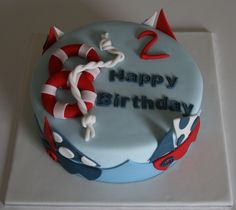 Birthday Cake - Sailing, boats, yacht, nautical, sea