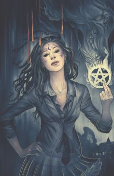 Jenny Frison - House of Night Hack And Slash, House Of Night, Pagan Art, Spirit World, Badass Aesthetic, Witch Art, Dark Fantasy Art, Fairy Art, Book Of Shadows