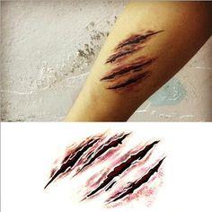 Werewolf claw marks - photo#29