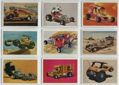 Tom Daniels collectors cards. These were included as a bonus in some of the early 70s Monogram kits. 1 or 2 were in each kit and this was usually mentioned this on the side of the box.