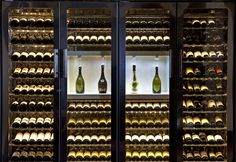While Taj Lands End, Mumbai's wine collection boasts of 20,000 bottles,  The Chambers alone can hold about 900 bottles, making it the largest wine display in the hotel!
