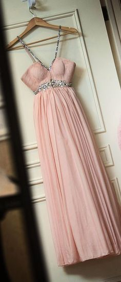 ELLIE Powder Pink Dress by annlumred on Etsy, $795.00