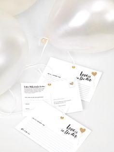 Zum Downloaden: Ballonflugkarten für eure Hochzeit