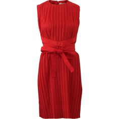 Victoria By V. Beckham Cross Strap Washed Taffeta Dress ($850) ❤ liked on Polyvore featuring dresses, knee length sheath dress, red knee length dress, criss cross dress, knee-length dresses and sheath cocktail dress