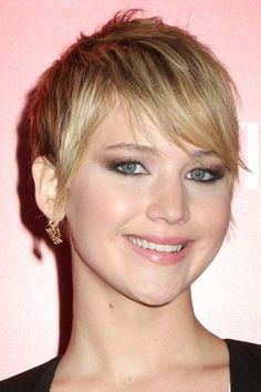 edgy pixie haircut with bangs