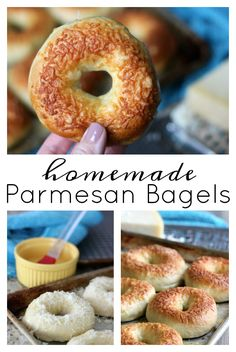 Could You Eat Pizza With Sort Two Diabetic Issues? Back To School Lunch Ideas? These Are The Best And Easiest Homemade Parmesan Bagels. Make Delicious Bagels At Home That Rival Any From Your Favorite Bagel Shop Breakfast Bagel, Perfect Breakfast, Breakfast Recipes, Breakfast Ideas, Homemade Pretzels, Homemade Bagels, Homemade Buns, Coffee And Bagel