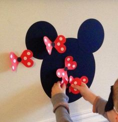 IDEAS: DECORACION MINNIE MOUSE