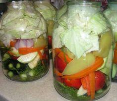Овощное ассорти на зиму рецепт