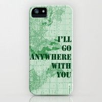 $35 I'll Go Anywhere With You iPhone Case by Catherine Holcombe   Society6