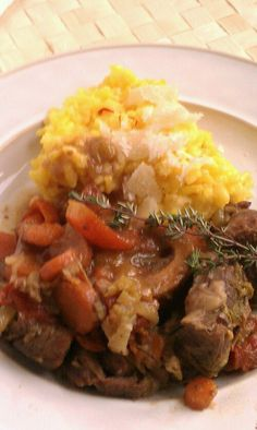 "Osso Buco ""Slow Cooker Friday"""