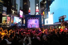 TIMES SQUARE POP-UP STARS NICKI MINAJ  WorldStage provided the lighting package for this Nokia phone launch right in the middle of Times Square. 2012 Nokia TS | Lighting Technology – WorldStage