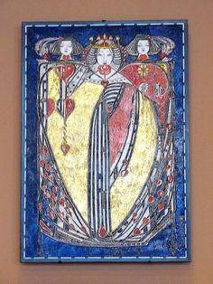 Queen of Hearts--Margaret MacDonald Mackintosh by Universal Pops, via Flickr