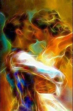 The passion and purpose of twin flames Love Images, Love Pictures, Romance Arte, Illustration Art Dessin, Flame Picture, Twin Flame Love, Twin Flames, Flame Art, Art Of Love