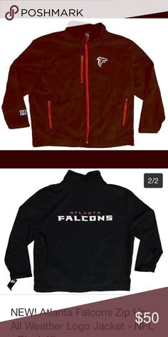 NWT NFL Falcons Jacket All weather jacket. Never opened. Still in plastic. Going for $50-$75 on eBay Jackets & Coats Lightweight & Shirt Jackets