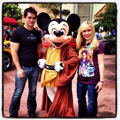 @SamWitwer w Micky and @Her Universe #StarWars Weekend