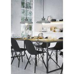 Lampa wisząca Constant, betonowe oświetlenie nad stołem. Lampa przeznaczona dla aranżacji w stylu loft. http://blowupdesign.pl/pl/lampy-betonowe-gipsowe-industrialne-loft-design/2101-styl-loftowy-w-jadalni-dzieki-betonowej-lampie-wiszacej-constant-funkcjonalne-oswietlenie-w-kuchni.html #loftdesign #pandantlamps #concrete #concretelamp #homelighting #design #productdesign #lightingstore #industrialinterior #lampazbetonu #lampaloft
