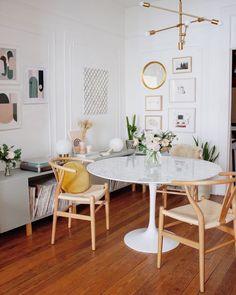 Dining Room Table for 8 . Dining Room Table for 8 . Gorgeous 40 Modern Dining Room Inspiration and Ideas S Small Room Design, Dining Room Design, Small Apartment Decorating, Room Interior Design, Küchen Design, Design Ideas, Nordic Design, Home And Deco, Home Furnishings
