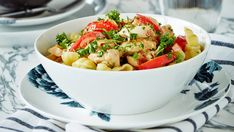 My Cookbook, Gnocchi, Kung Pao Chicken, I Love Food, Pasta Salad, Potato Salad, Chili, Recipies, Food And Drink