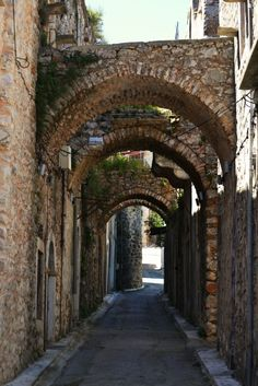 Vessa is a centuries old medieval village in the centre of the southern part of the island of Chios. Chios, Greek Islands, Greece Travel, Centre, Medieval, Southern, World, Pictures, Drive Way