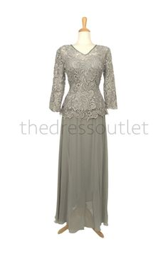 Mother of the Bride Dress Plus Size Formal Gown by TheDressOutlets