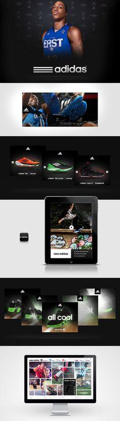 adidas.com - Patrick Dubé / Interactive Art Director