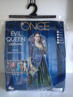 Once Upon A Time ABC Evil Queen Costume Size XL | eBay