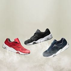 The PUMA R698 Pack is available now including the Footasylum UK exclusive  in red. Sports d27c824626f4