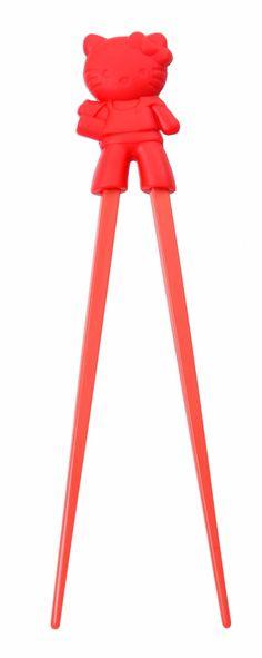 Chopstick/ Eetstokjes 21cm Hello Kitty Rood / The Oriental Shop