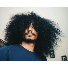 Natural Hair Everything Natural Hair Men, Natural Hair Styles, Long Hair Styles, Curls For The Girls, Fine Black Men, Long Curls, Natural Hair Inspiration, Black Forest, Fascinator