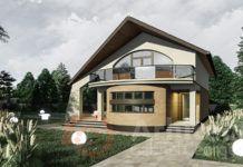 Casa cu etaj 69 Small House Interior Design, Modern House Design, Small Modern House Plans, House Design Pictures, Modern House Facades, Luxury House Plans, Facade House, Design Case, Home Fashion