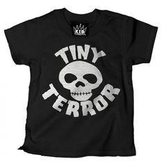 Kid's Tiny Terror Tee by Cartel Ink