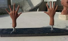Stopmotion Puppet hands model