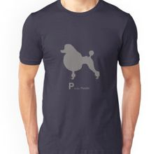 Silhouette Poodle | Dogs | t-shirt