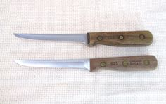 Chicago Cutlery 62S Boning Fillet Knives Two by treasuresofodie