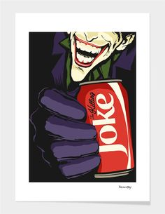 """The Killing Coke"", Numbered Edition Fine Art Print by Butcher Billy - From $39.00 - Curioos"